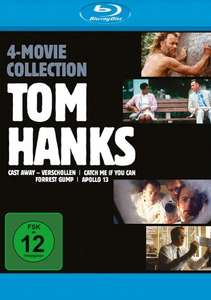Tom Hanks - 4-Movie-Collection (Blu-ray)  für 17,54€ (Media-Dealer)