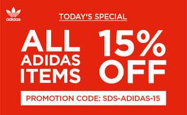 15% auf Adidas bei SIDESTEP.de