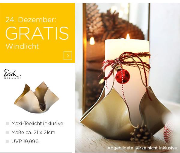 [baur.de] Adventskalender einige Deals bis zum 24. Dezember