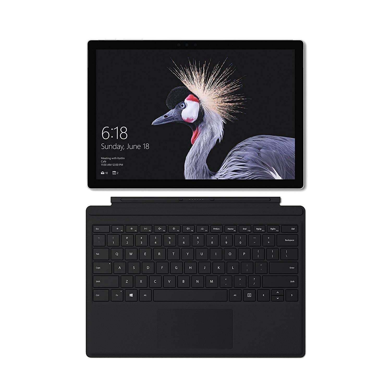 Microsoft Surface Pro + schwarzes Type Cover im Bundle - Core i5, 128GB, 4GB Ram für 938,70€ oder für 888€ ohne Type Cover