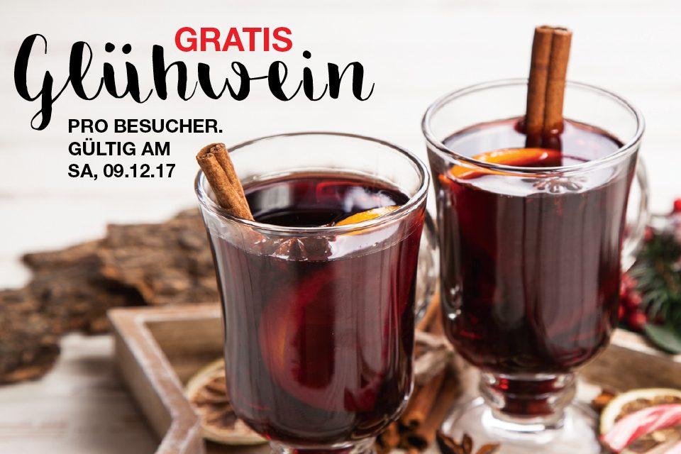 [Möbel Borst] pro Besucher gratis Glühwein. Gültig am 09.12.2017.