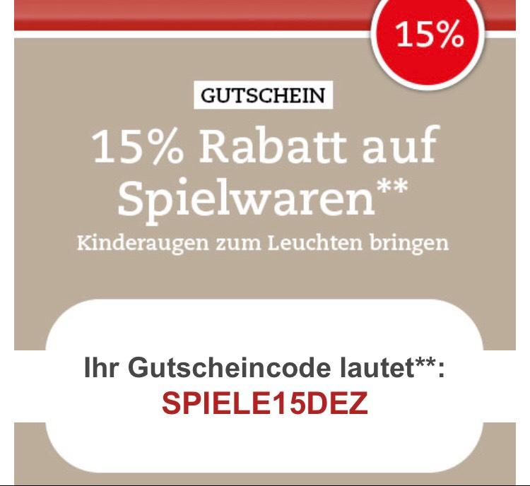 15% auf Spielwaren bei Thalia