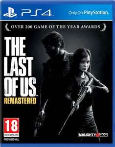 The Last of us Remastered PS4 PEGI