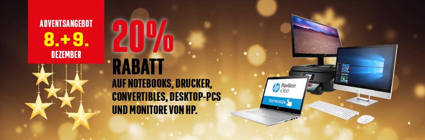20% auf HP Geräte bei Interdiscount (Schweiz)