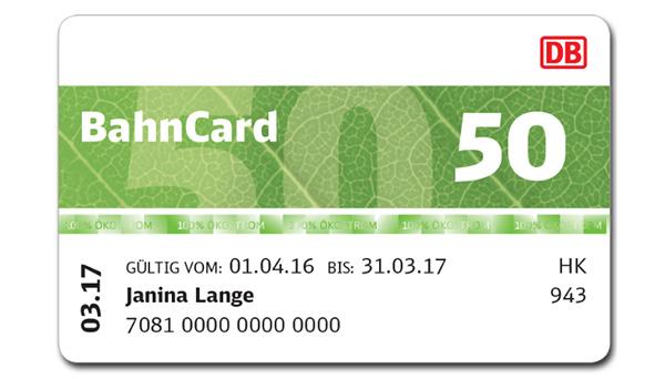 Bahncard 50 ab 10.12.17 sparpreisfähig! 25 % auf (wirklich) alle Fahrten --> Statt bisher nur mit BC 25