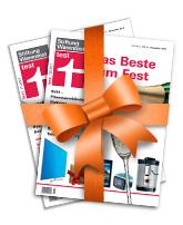 """Zwei Ausgaben der Zeitschrift """"test"""" kostenlos"""