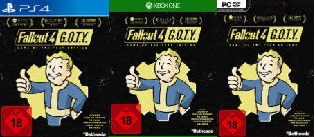 Fallout 4 Game of the Year Edition (PS4) und Xbox 1 und PC für  je 16,99€ versandkostenfrei [Saturn]