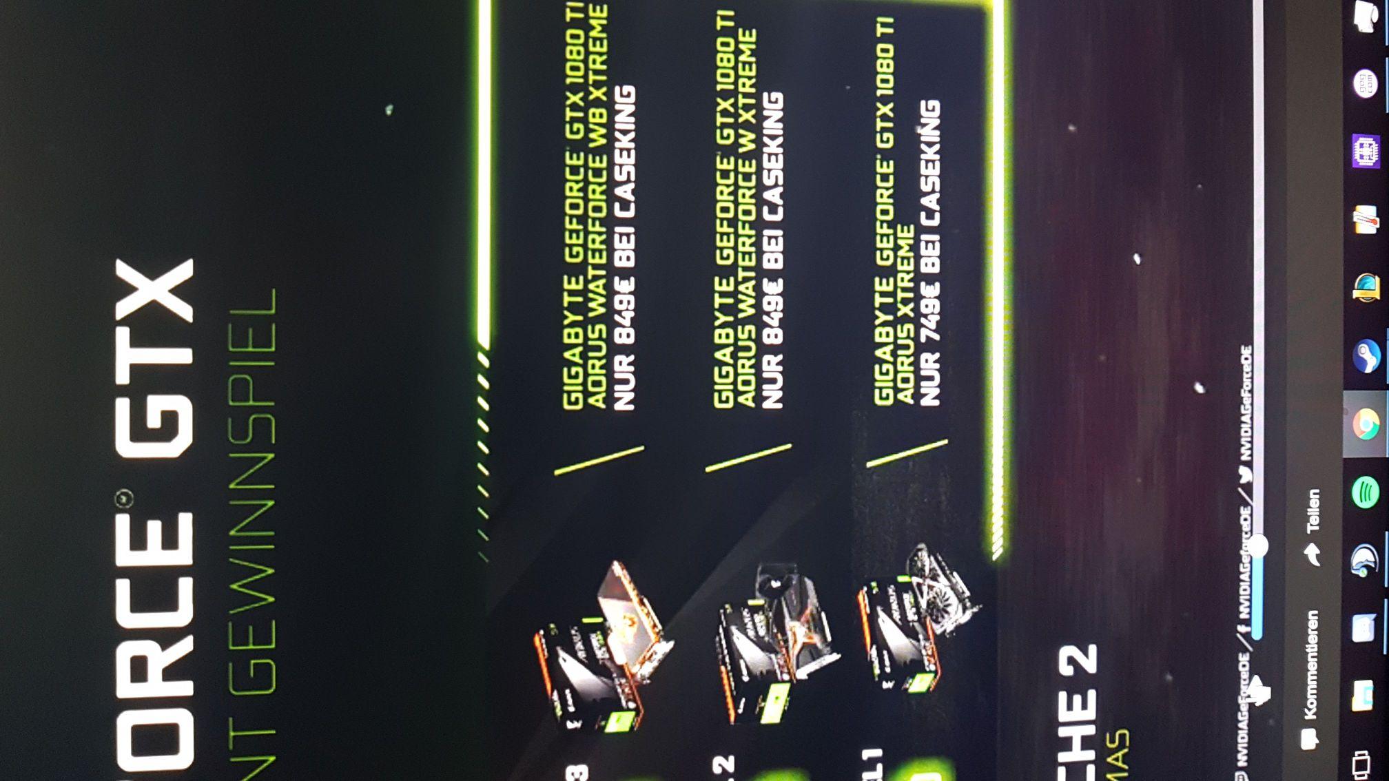 [Vorankündigung] GTX 1080ti Aorus Extreme für 749€ (wahrsch auch Waterforce/King Mod für 849€)