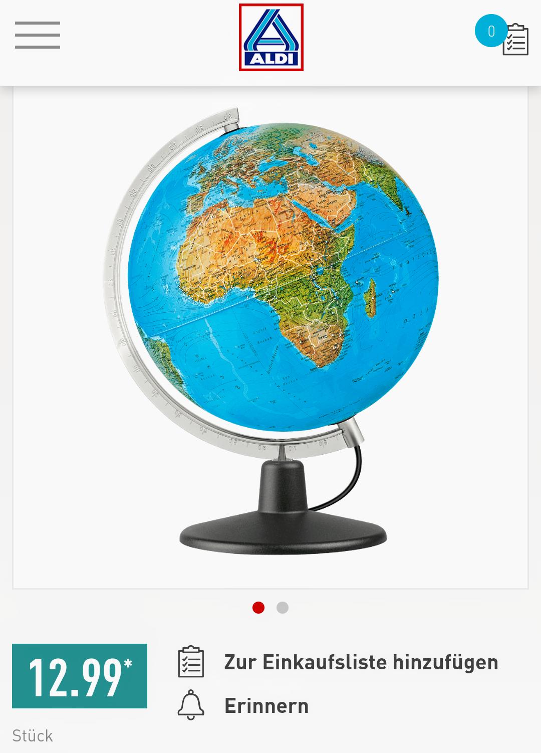 [ab 14.12.] Globus bei Aldi Nord