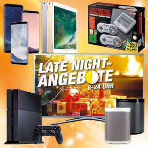 [Lokal Expert Klein Koblenz] Late Night Angebote: Sonos Play:1, Samsung Galaxy S8 inkl. GearFit2 gratis, PS4 1 TB C Chassis Black, Samsung LED-TV UE49M5670AUXZG, Apple iPad Pro 9.7 32 GB Wifi, Nintendo Classic Mini