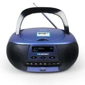 BLAUPUNKT BD 400 Boombox Digital Radio DAB+ CD USB Ghettoblaster AUX MP3