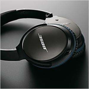 BOSE QuietComfort 25, Over-ear Kopfhörer, geschlossen, kabelgebunden (Schwarz/Blau) für 169€ versandkostenfrei (Saturn)
