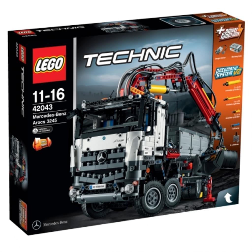 LEGO® - Technic, Mercedes-Benz Arocs 3245; 42043