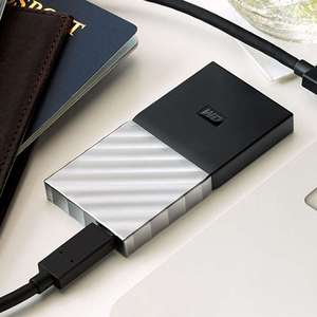 WD My Passport 256 GB SSD | USB Type-C und USB 3.1 Gen 2-fähig | Media Markt inkl. Versand