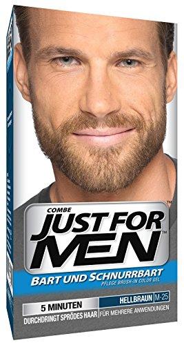 Just For Men Pflege Brush In Color Gel für Bart, Schnurrbart, Mittelbraun für 5,42€ / Hellbraun für 4,59€ (Spar-Abo 5% + Coupon)