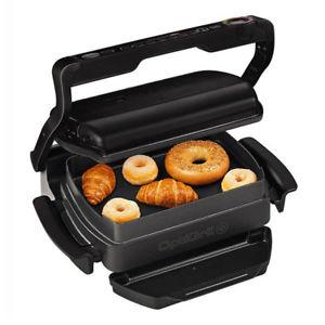 (Ebay) (WOW) TEFAL GC 7148 Optigrill+ Snacking & Baking Kontaktgrill schwarz 2.000 Watt für 119€