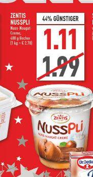 [Marktkauf Rhein-Ruhr] Nusspli 400g für 1,11€ (Vglp.: ab 1,79€)