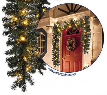 240 cm LED Weihnachtsbaum (34,95€ + VSK) / Tannengirlande (9,79€ + VSK) und andere Weihnachtsdeko