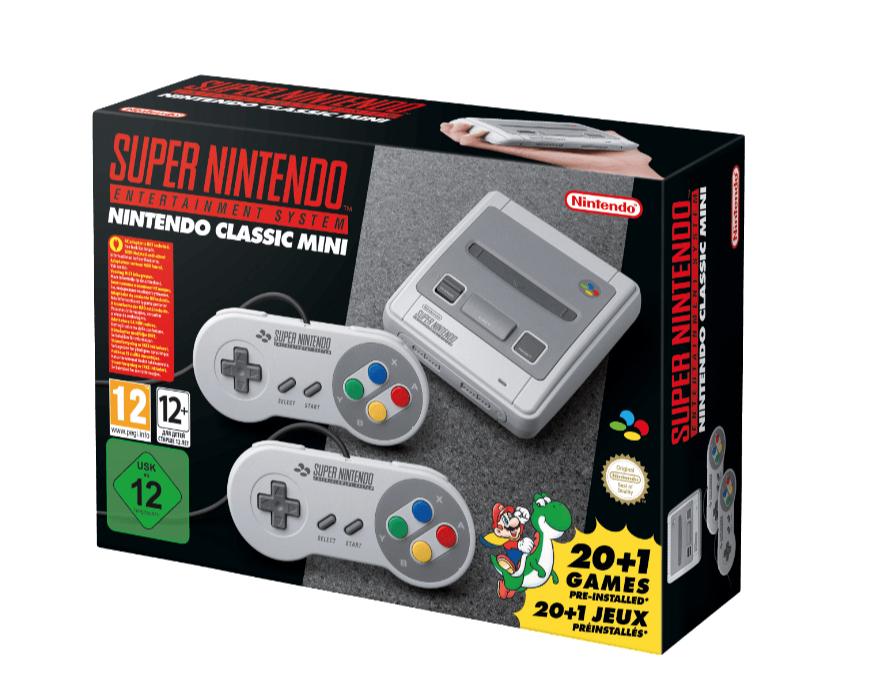 Für Otto-Neukunden: Nintendo Classic Mini: Super Nintendo Entertainment System zum Mega-Preis durch Rabattcode