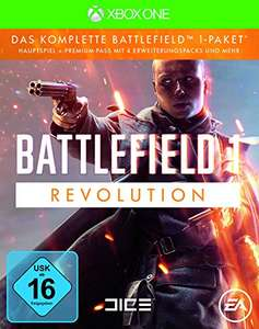 Battlefield 1: Revolution (Game inkl. Premium-Pass) (Xbox One & PS4) für je 19,99€ (Amazon Prime)