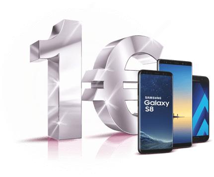 """[Telekom] """"Alle"""" Samsung Smartphones für 1€ bei Abschluss eines Neuvertrags"""