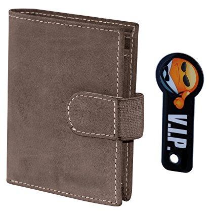Portemonnaies aus echtem Leder inkl. Schlüsselfinder mit 50% Rabatt [Amazon]