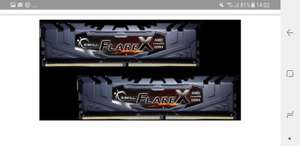 G.SKill Flare X 16GB Kit DDR4-3200 CL14 (F4-3200C14D-16GFX)
