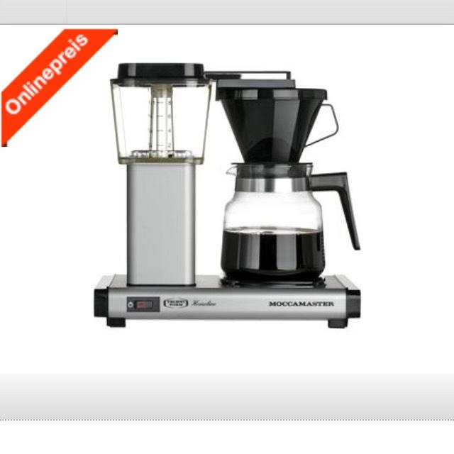 Moccamaster - Sehr gute Kaffeemaschine zum sehr guten Preis
