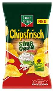 10x funny-frisch Chips Sour Cream und Wild Onion (10 x 175 g) [Amazon.de Spar Abo]