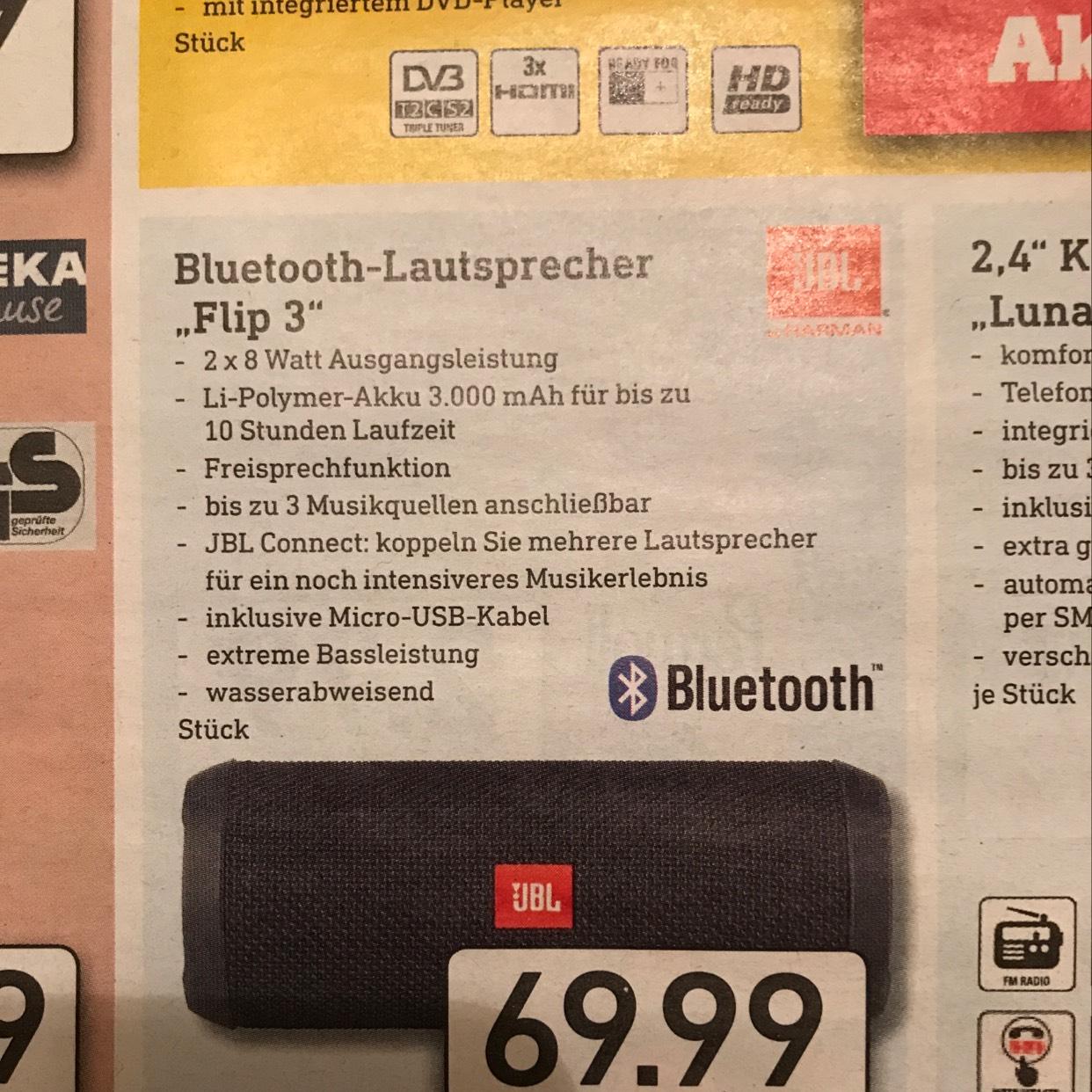 JBL Flip 3 bei Diska evtl. lokal (Kesselsdorf bei Dresden)