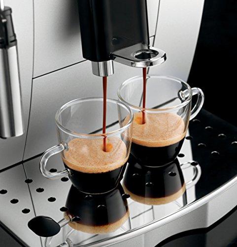 Amazon De'Longhi ECAM 23.420.SB Kaffeevollautomat silber/schwarz