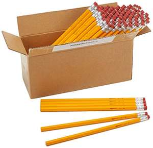 [Amazon] - AmazonBasics Holzgefasste Bleistifte, HB, Box von 96 9,37 € Sparabo
