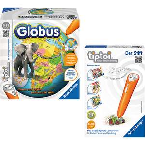 Tiptoi interaktiver Globus, Set mit Stift