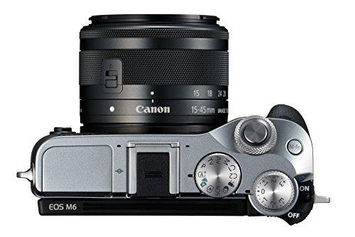 Canon EOS M6 inkl. Kit Objektiv 15-45mm durch Direktabzug 579,-Euro + Canon Cashback