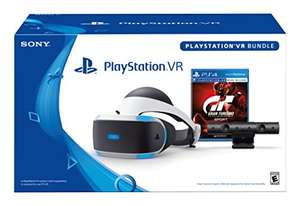 PlayStation VR Brille + PlayStation Kamera (2016) & Gran Turismo Sport für 225€ (Amazon US)