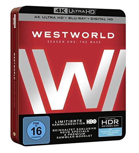 Westworld Staffel 1 in 4K uhd + Bluray + digital