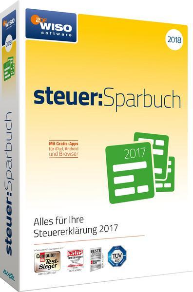 WISO steuer:Sparbuch 2018 (für Steuerjahr 2017) (CD-Version mit Handbuch) Windows & MAC
