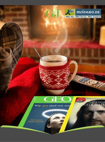 [Gruner+Jahr] Zeitschriftenabo-Sammeldeal (GEO, Men's Health, Outdoor, National Geographic uvw.) mit Amazon-Gutschein bis 70,00 €