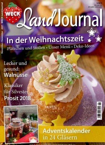 """epaper Monday: """"LandJournal"""" Zeitschrift (Ausgabe 49/2017 November/Dezember)"""