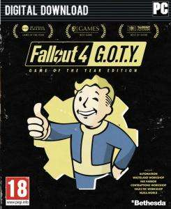 Fallout 4: Game of The Year Edition (Steam) für 15,10€ (CDKeys)