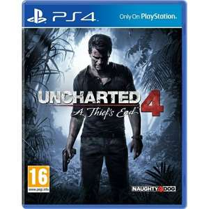 Uncharted 4: A Thief's End (PS4
