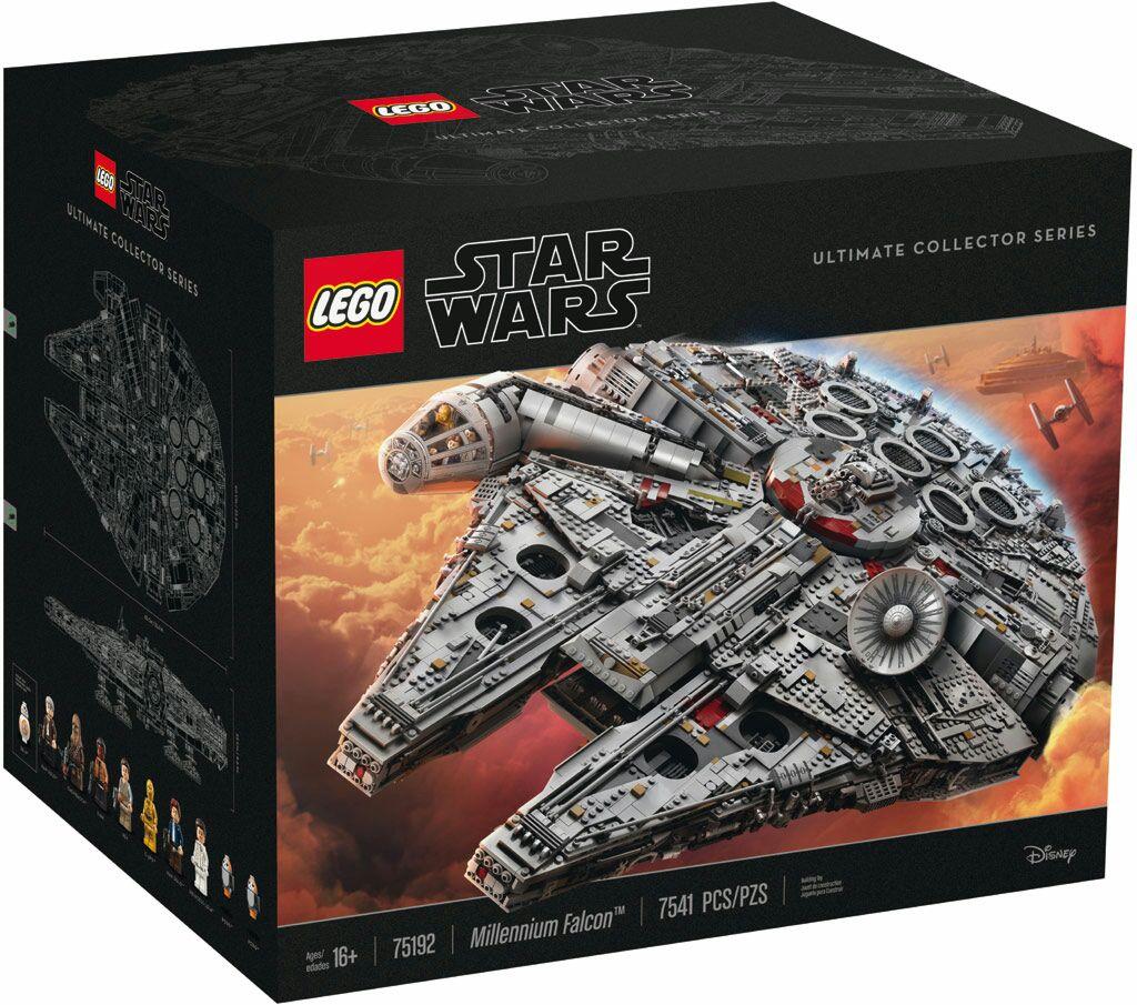 Lego Millenium Falcon wieder verfügbar. Fans sollten wahrscheinlich schnell sein, Weihnachten steht vor der Tür