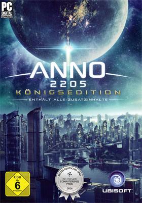 Anno 2205™ Königs-Edition - UPlay Bestpreis