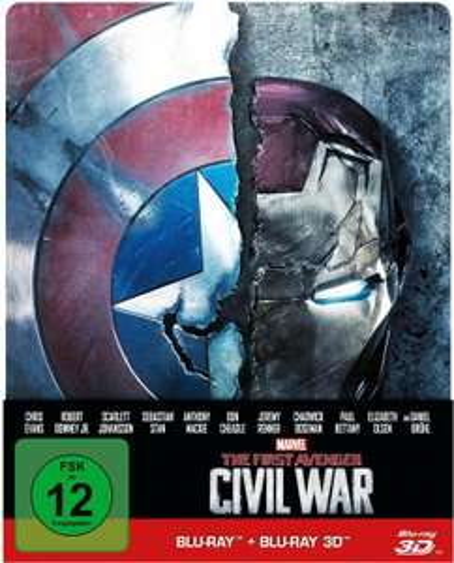 Diverse Disney/Marvel 3D Blu-Ray Steelbooks z.B. Captain America Civil War ab 14,99 @cede.de