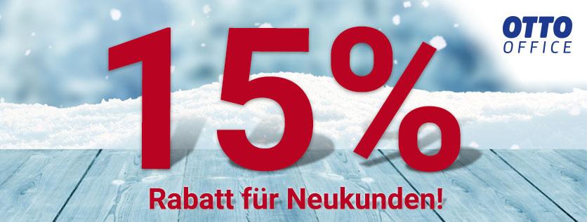 (Shoop) Otto-Office: 7% Cashback+ 15% Gutschein für Neukunden + 10€ Shoop.de-Gutschein*
