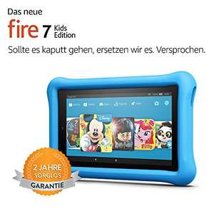 [Amazon] Fire 7 Kids Edition (79,99€) und Fire HD 8 Kids Edition (89,99€) (auch bei Conrad)