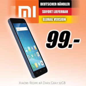 [fotozack@ebay] Xiaomi Redmi 4A 32GB/2GB grau (Global Version)