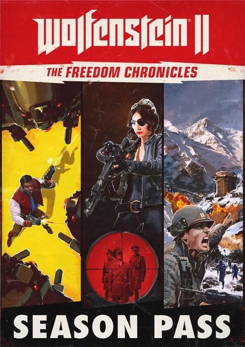 Wolfenstein II: The New Colossus (The Freedom Chronicles Season Pass) (Steam) für 9,68€ (CDKeys)
