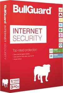 BullGuard Internet Security 3 Geräte - 5GB Backup