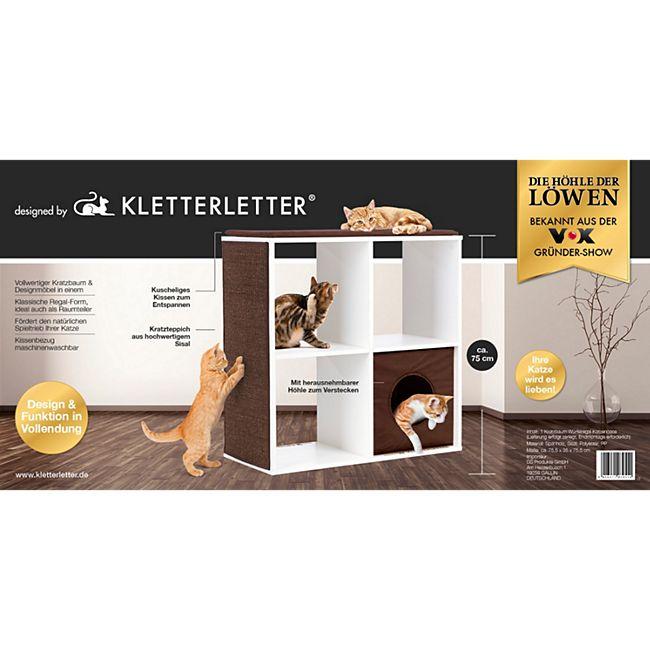 Kletterletter (Katzen-Kratzbaum) für 34,93 Euro inkl. Versand bei Netto-Online